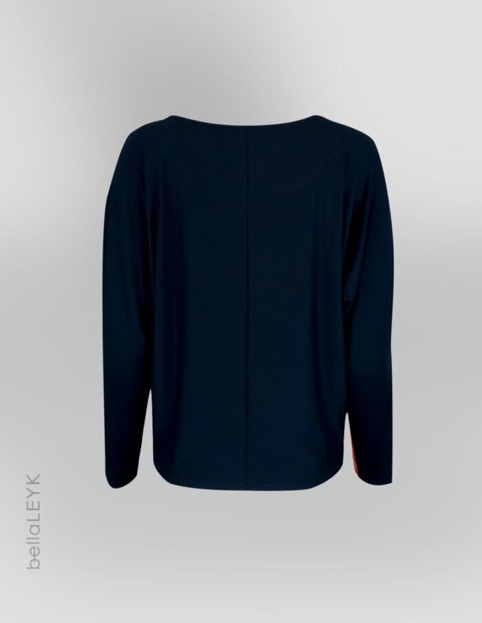 bellaLEYK_Jersey-Oberteil-mit-Kimonoärmel-Rücken
