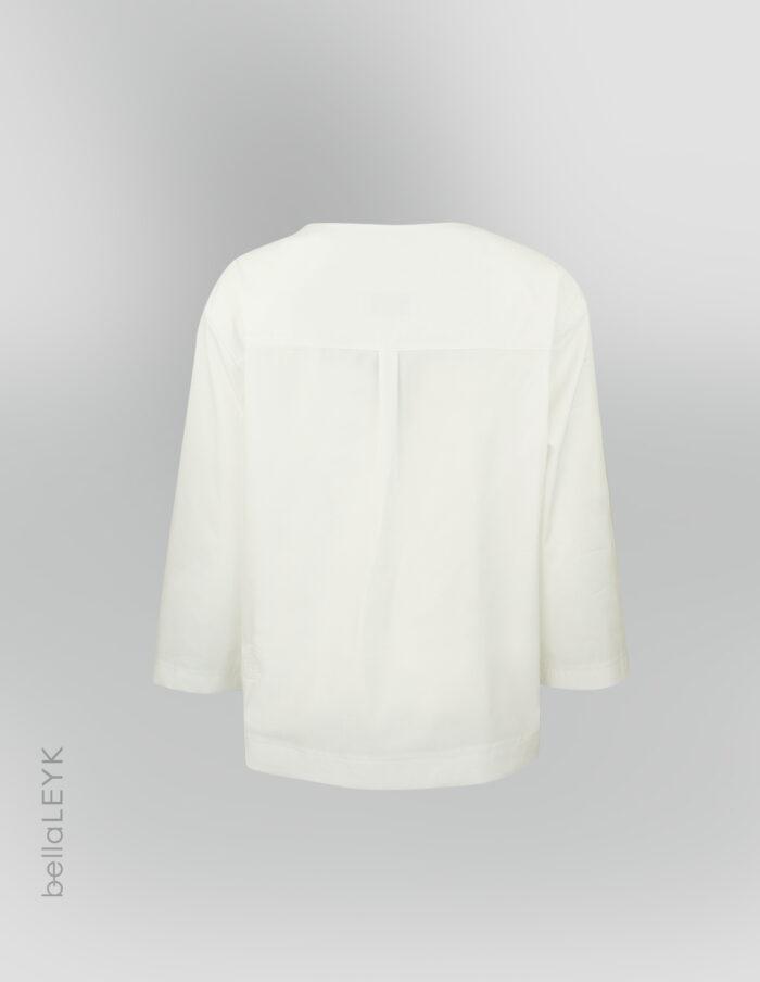 bellaleyk-schwarz-weißes Oberteil seitlich