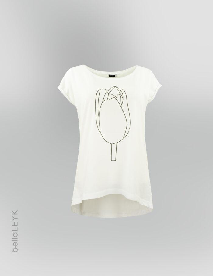 bellaLEYK-Tulpenprint T-Shirt